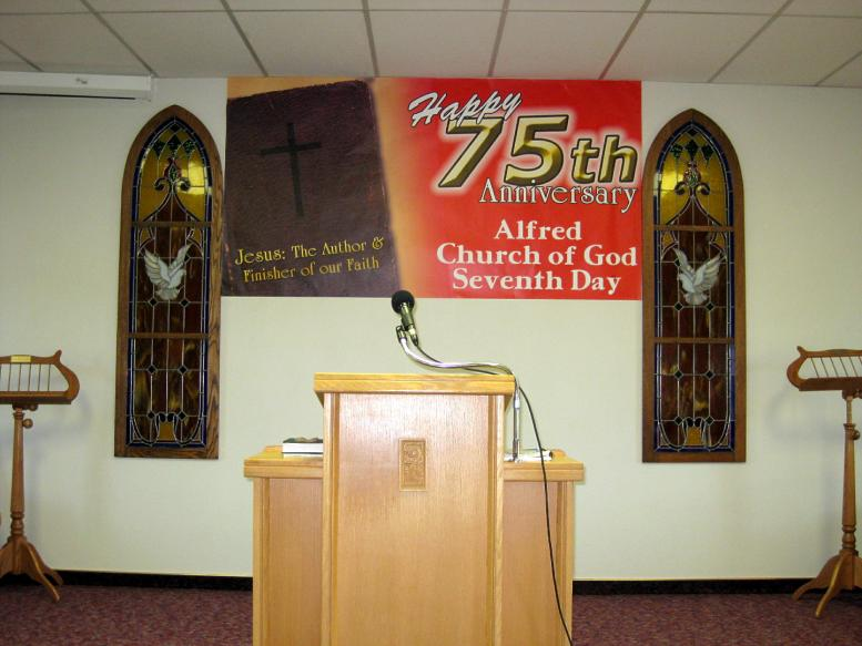 Alfred's 75th Anniversary - Church of God (Seventh Day